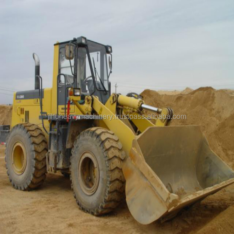 used japan loader WA380-1-3-5 WA350-1-3 WA320-5 WA470-3-5 WA450 WA100 WA180 Used Komatsu Japanese Wheel Loaders