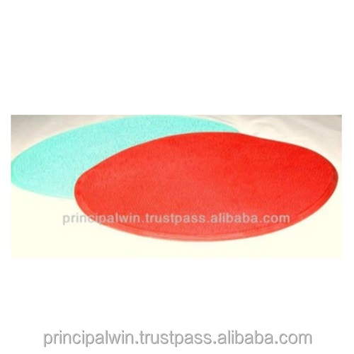 Natural Rubber Floor Mat (feathery top design, anti-slip)