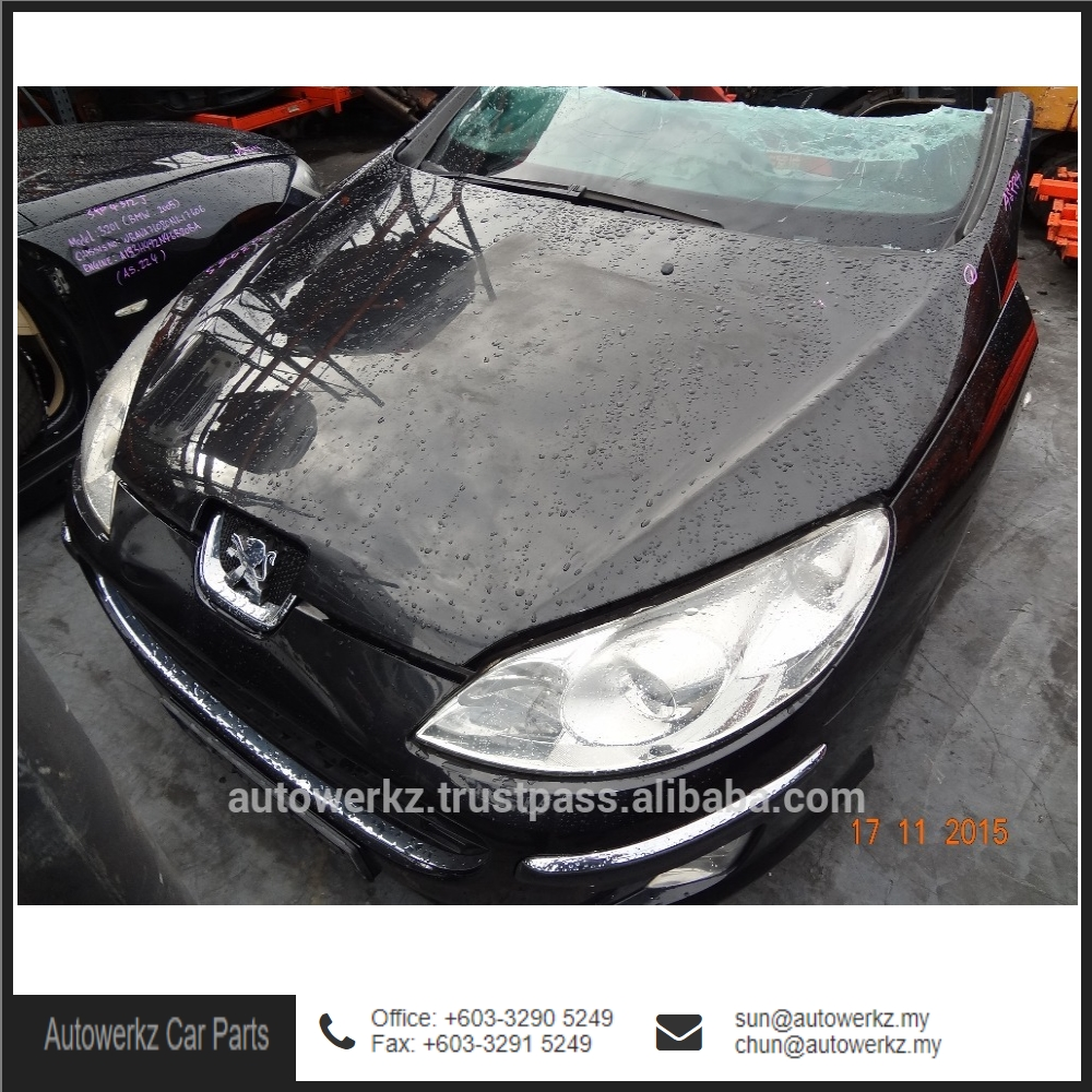 Good Condition Peugeot 407 Car Half Cut Car from Malaysia