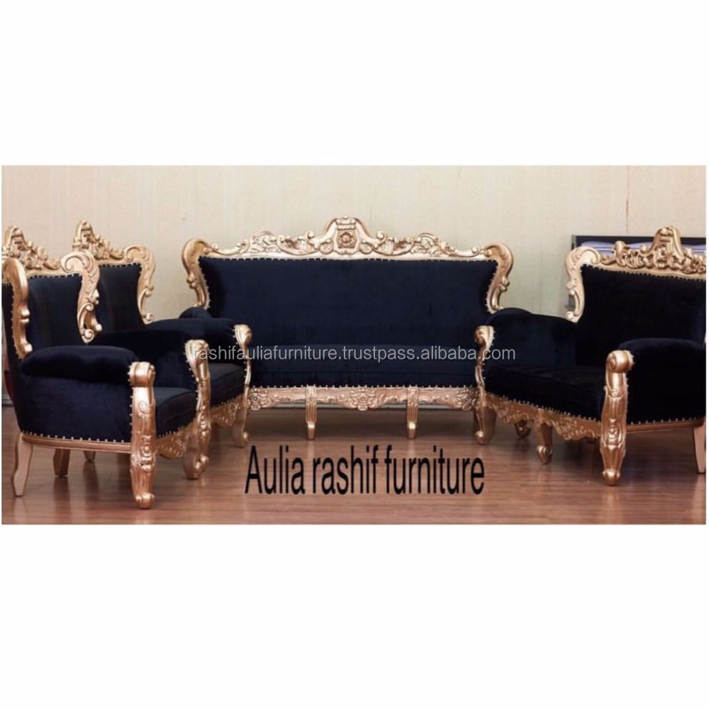 Ganesha Living Room Sets With Hand Carving Furniture Jepara Furniture
