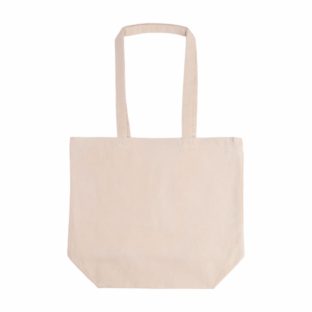 Good Quality 10 Oz. 100% Cotton Canvas Reusable Tote Shopping Bag