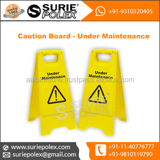 Caution Board Under Maintenance