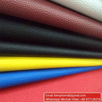 pvc raw material synthetic leather for basketball football volleyball balls materials