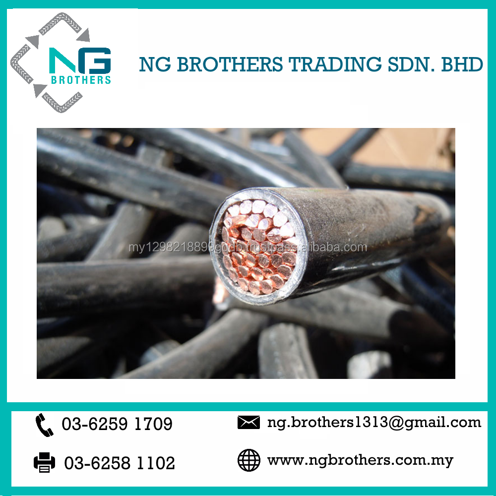 Scrap Metal Recycling Copper Cable Malaysia