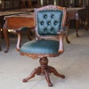 Mahogany Wooden Desk Chair - Jepara furniture