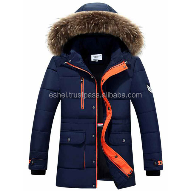 Furry Faux Fur Hoodie Zip up down Coat/Puffer jacket OEM Services manufacture