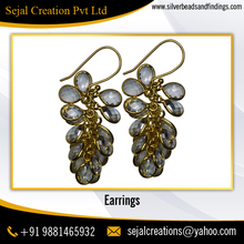Bulk Wholesale Fashion Long Kundan Drop Earrings for Girl