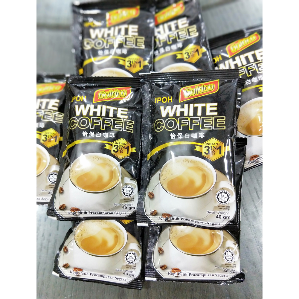 Instant 3 in1 Ipoh White Coffee