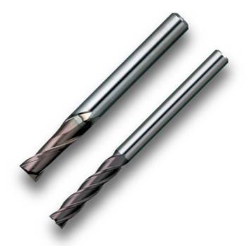 Highly-efficient 2 flute end mill MSE230/430 for industrial use