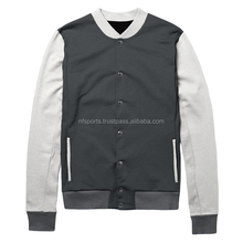 Customized Cheap Brand Varsity Baseball Letterman College Cotton Jacket