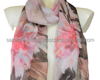 best acrylic polyester scarf wholesale