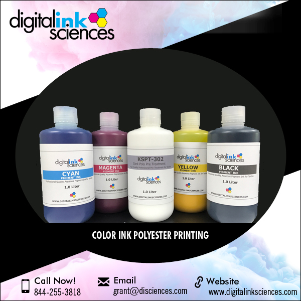 Sample Set of Color Pigment Ink for Digital Printing