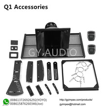 dual 10 inch line array flying kits, speaker spare part Q1 accessories