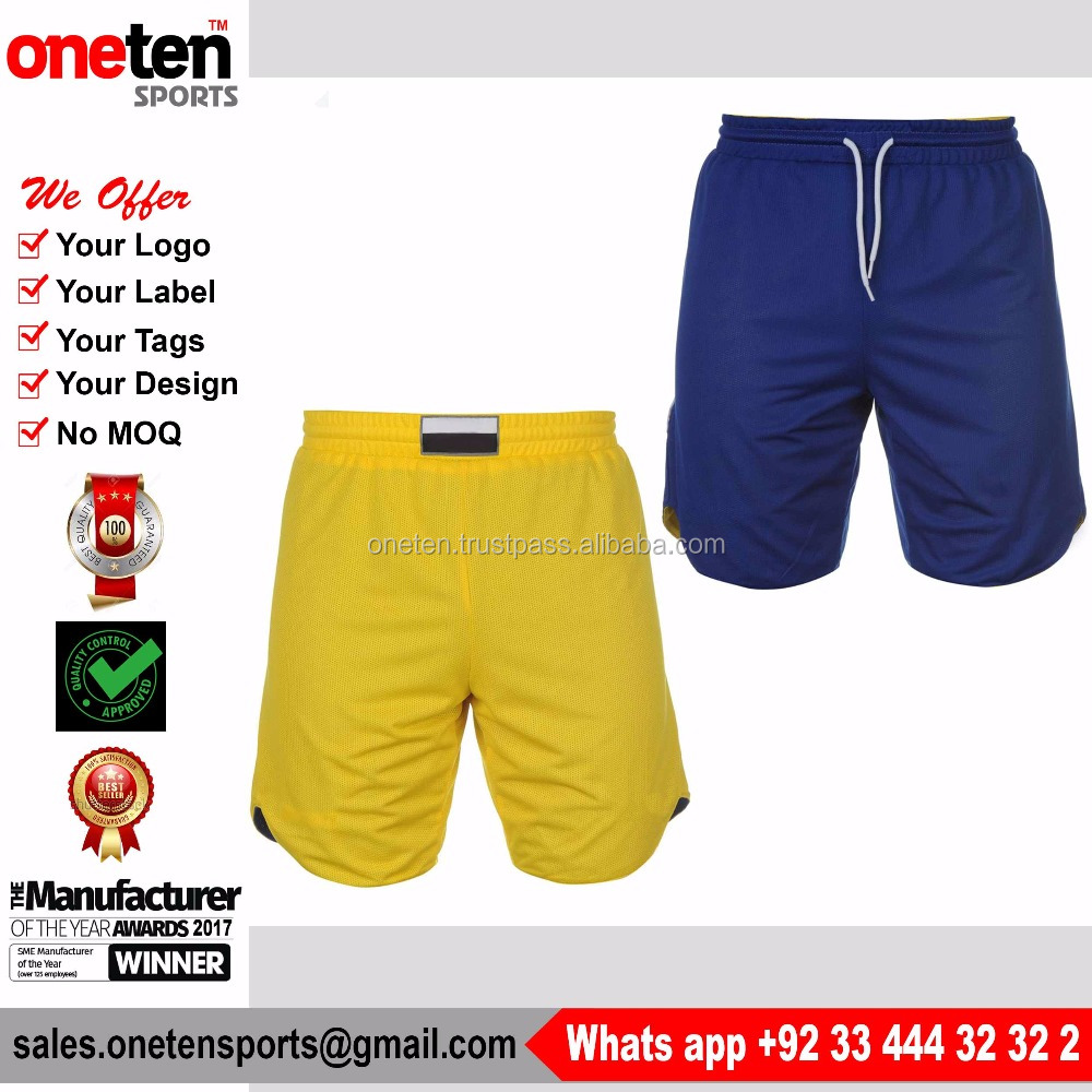 Pakistan high quality wholesale cotton sports basketball running shorts men - Basketball Wear