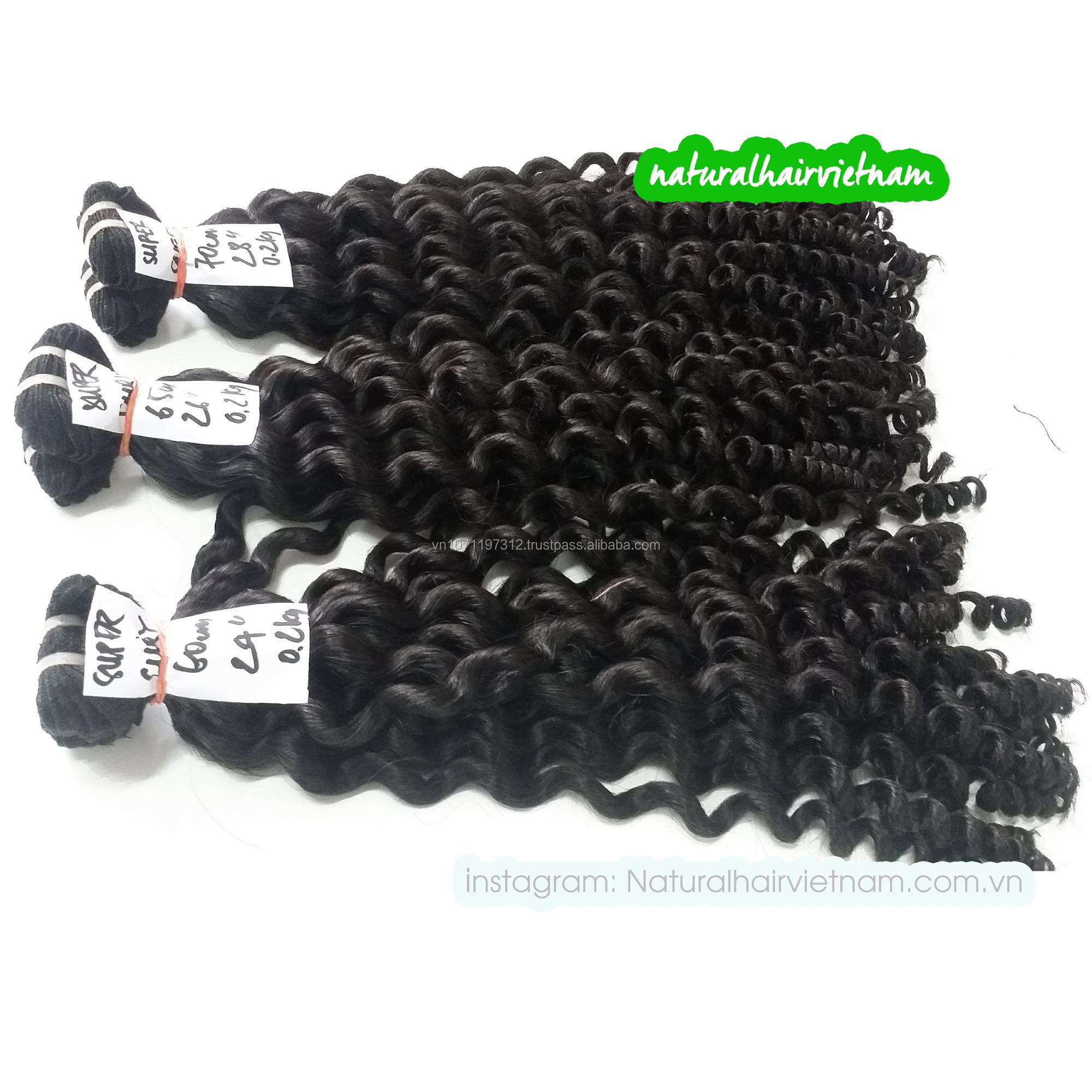 vietnamese human hair weft extensions for makings closures, frontals and wigs