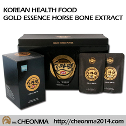 Best quality korean food beverage health food horse bone extract Hanmaryeok gold essence horse bone extract