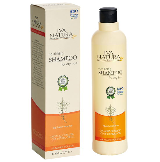 Nourishing Shampoo for dry hairs Certified Organic Product 400 ml