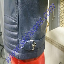 Y-584 Wholesale Fashion Latest Design Pure Leather King Jacket