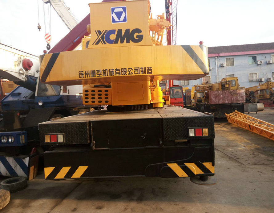 Used XCMG 50ton QY50K-I truck 100% made ni china crane limit switch for sale