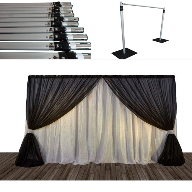 2018 Sale Portable Photo Booth Pipe And Drape Stands Photo Booth Enclosure