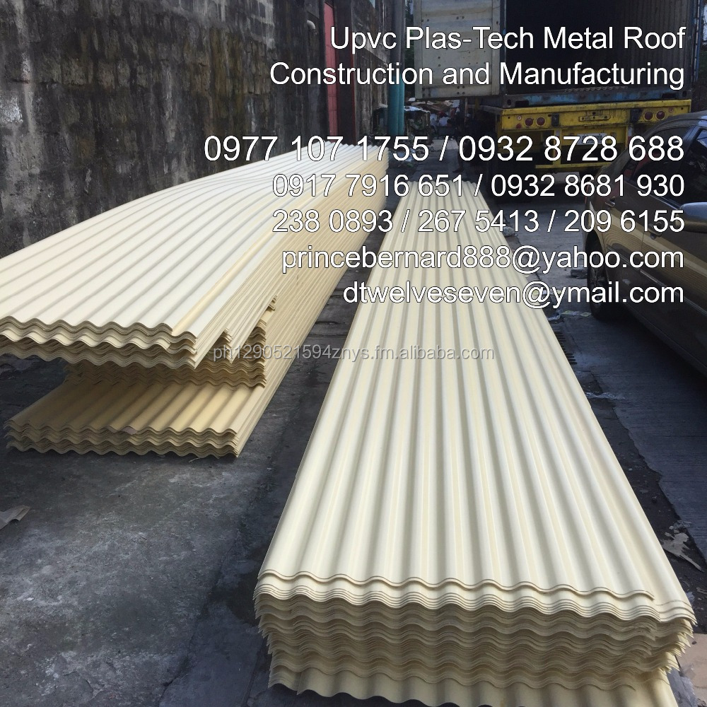 All Weather Plastech Metal Roofing for Warehouse and other Coastal Areas