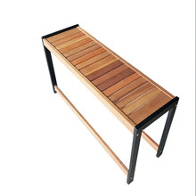 Solid Balau Wood Indoor Outdoor Foter Long Multi Purpose Bench / Dining Bench / Garden Bench