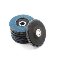 "Economical 4.5 "" -115mm 40 Grit Angle Grinder Disc Zirconia Flap Disc"