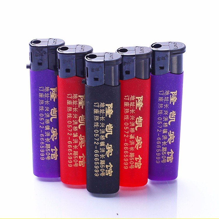 2017 new product cheap disposable cigarette plastic flame gas lighter with paper