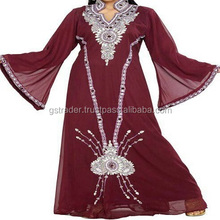 Best Modern design multicolour abaya women choice soft and lightweight kaftan new arrival vintage abaya 2017 collection