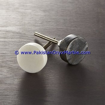 LUXURIOUS DECORATIVE PURE NATURAL MARBLE KNOBS