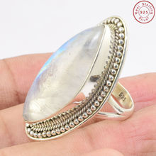 Jewelry manufacturer rainbow moonstone finger ring buy wholesale silver jewelry 925 sterling silver ring jewelry