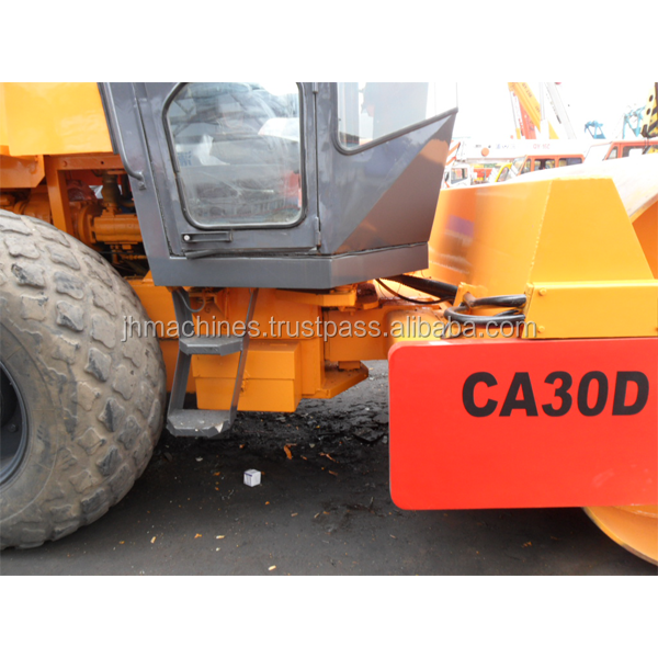 Dynapac CA30d used single truck vibratory roller