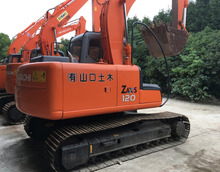 used hitachi zx120 crawler excavator, secondhand hitachi ex120 crawler excavator, Japan made