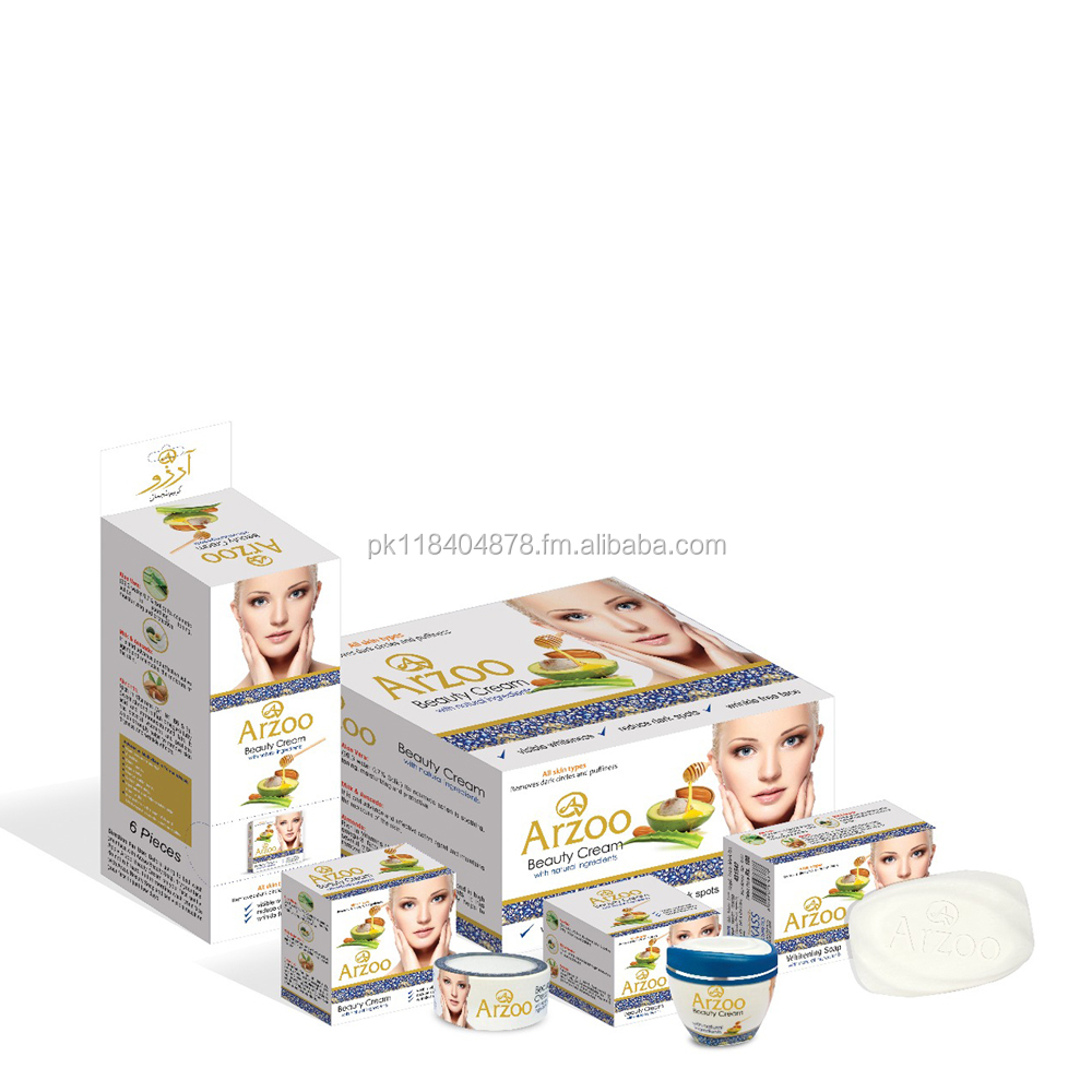 Arzoo Beauty Whitening Cream & Soap