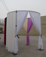Wedding Hall Decorations and Upright and Backdrop Drapery