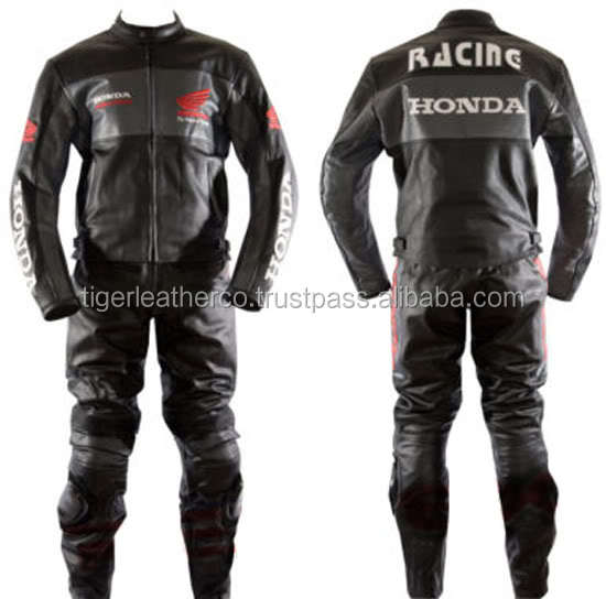 Branded Honda leather racing suit. Branded suit. Honda The Brand
