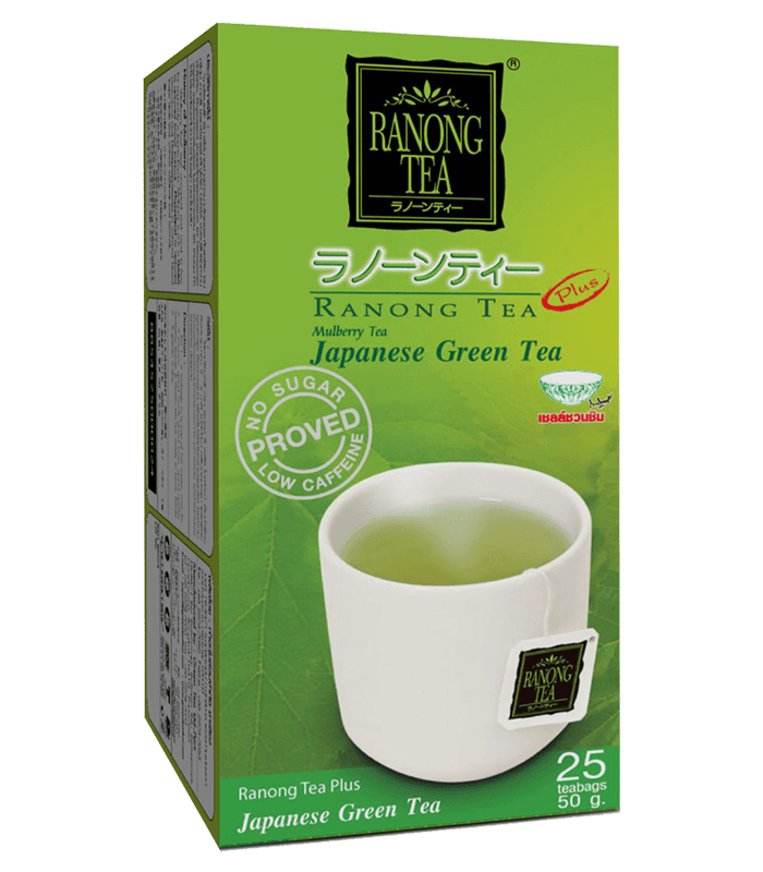 MULBERRY GREEN TEA WITH JAPANESE GREEN TEA RANONG (25 TEA BAGS)