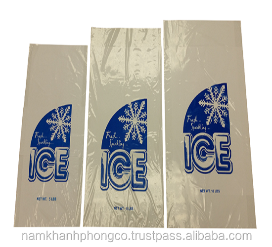 ice cube plastic bag with high quality made in Vietnam