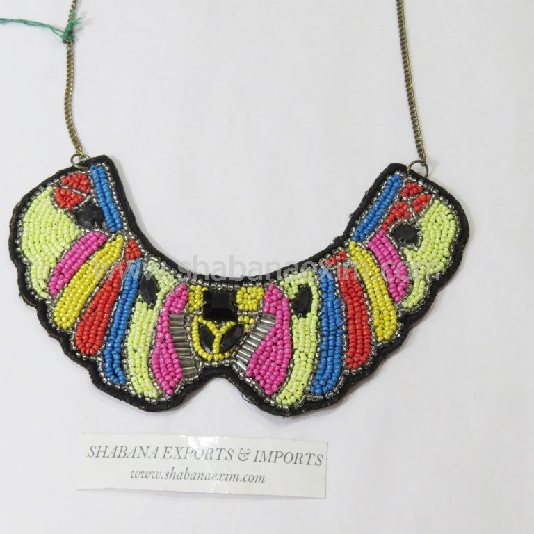 African jewellery seed beads necklace costume jewelry wholesale
