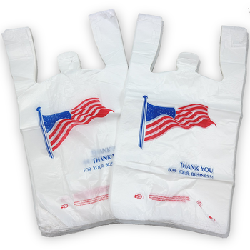 Cheap t-shirt plastic bags made in Vietnam/ Recycled t-shirt plastic bags