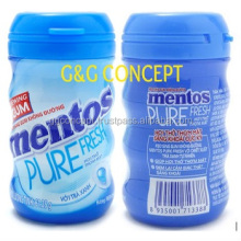 Mentos Gum, Mentos Pure Fesh Chewing Gum Fresh Mint Sugarfree 61,25g Jar