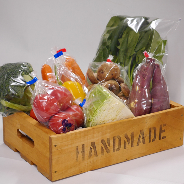 FILM PACKAGE PRESERVING FRESHNESS OF FRUITS AND VEGETABLES SIZE8