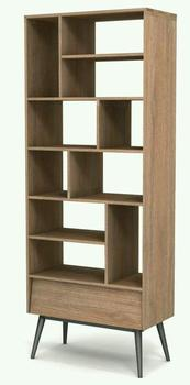 Teak wood minimalis Bookcase