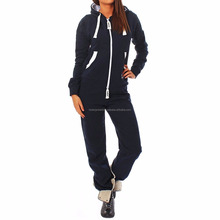 Wholesale women Casual wear custom cotton polyester High quality gym track suits