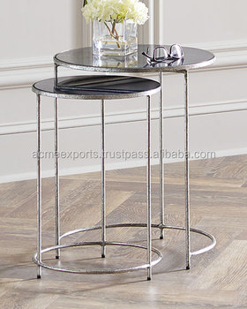 Stainless Steel Side Table | Contemporary Coffee Table