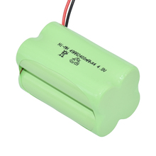 Full Charge Voltage AA 4.8 Volt 2400mAh Rechargeable Nimh Battery Packs For RC Toys