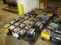 Drained Lead Acid Battery Scrap (Best Prices)!
