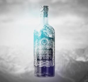 Russian Silver Premium traditionally Vodka