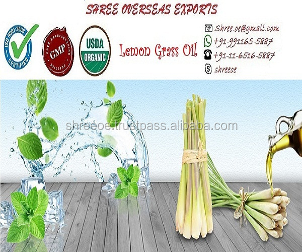 Pure & Natural Lemongrass Oil