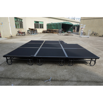 RK popular cheap folding portable stage for school/ concert